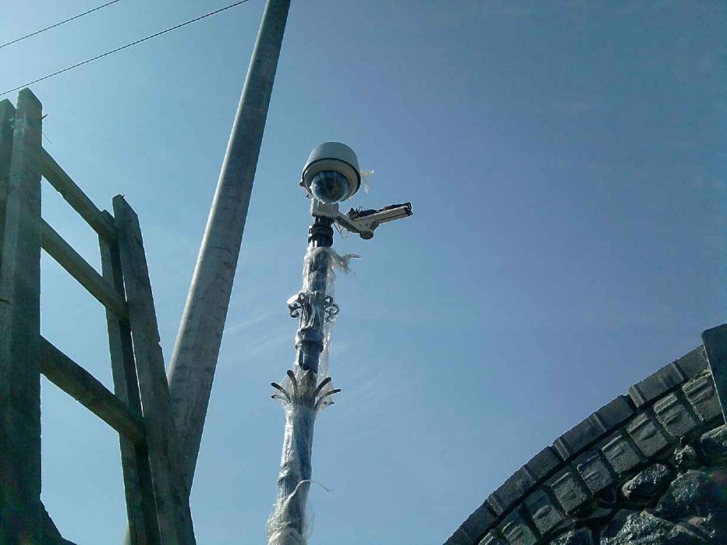 Управляемые поворотные видеокамеры (Speed Dome)